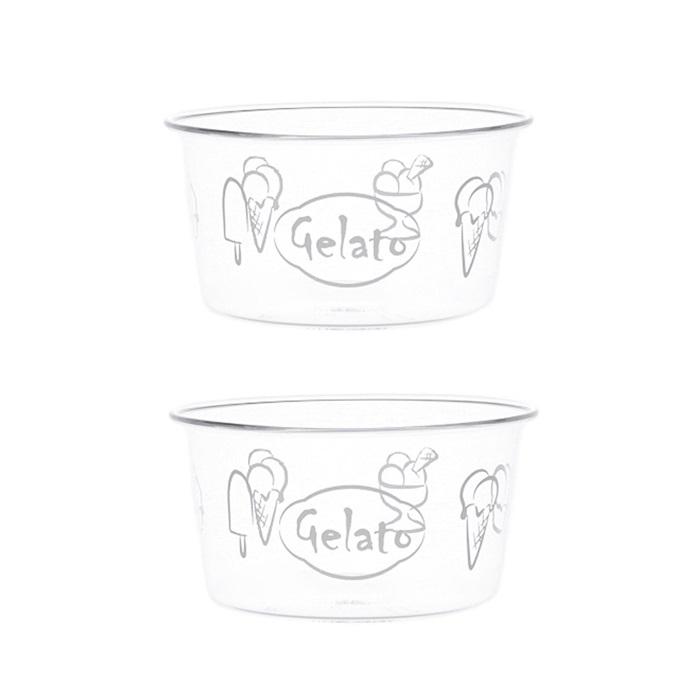 set 2 coppette gelato