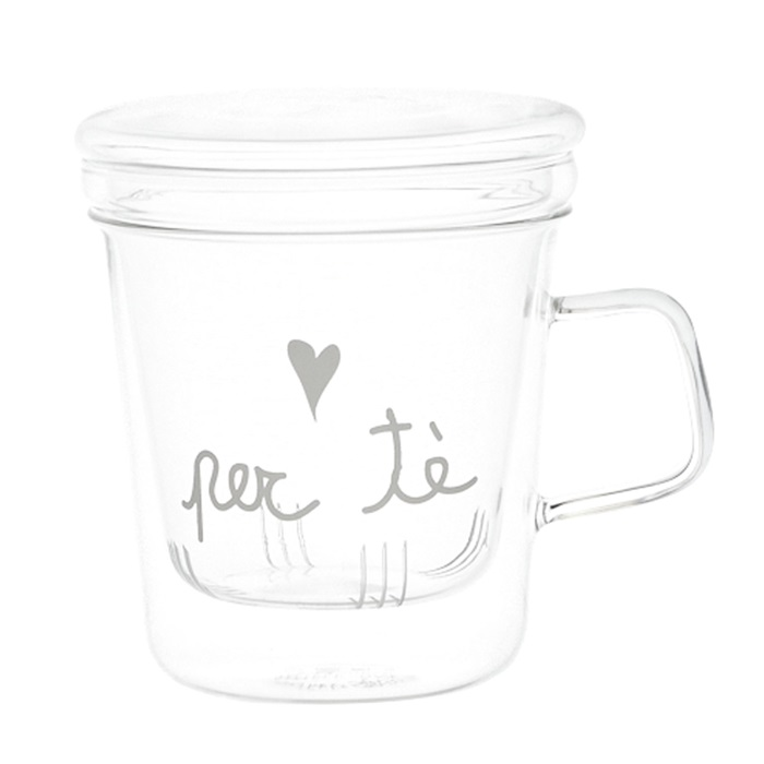 Tisaniera in vetro Per Tè